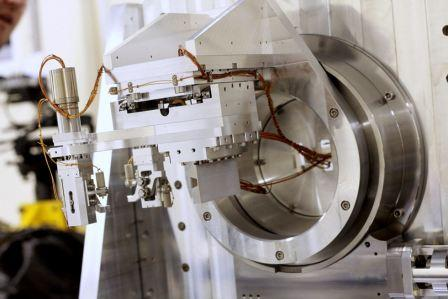 Goniometer on Double Laue-Crystal Monochromator installed on IMBL beamline